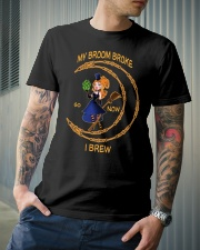 My broom broke so now i brew Classic T-Shirt lifestyle-mens-crewneck-front-6
