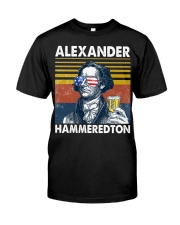 Alexander Hammeredton Classic T-Shirt front