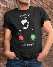 The Beer is calling Classic T-Shirt apparel-classic-tshirt-lifestyle-26