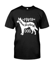Mama German Shepherd Dog Classic T-Shirt thumbnail