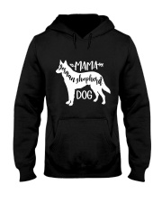 Mama German Shepherd Dog Hooded Sweatshirt thumbnail