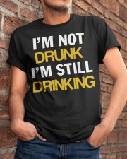 Funny Beer Classic T-Shirt apparel-classic-tshirt-lifestyle-26