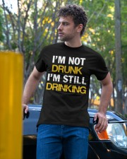 Funny Beer Classic T-Shirt apparel-classic-tshirt-lifestyle-front-44