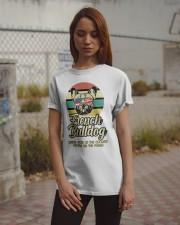 Funny French Bulldog Vintage Retro T-Shirt Gift Classic T-Shirt apparel-classic-tshirt-lifestyle-18