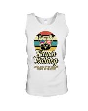 Funny French Bulldog Vintage Retro T-Shirt Gift Unisex Tank thumbnail