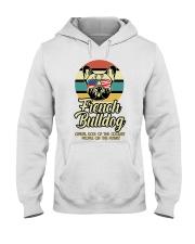 Funny French Bulldog Vintage Retro T-Shirt Gift Hooded Sweatshirt thumbnail