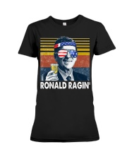 Ronald Ragin' Premium Fit Ladies Tee thumbnail
