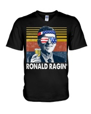 Ronald Ragin' V-Neck T-Shirt tile