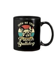 SHOW ME YOUR FRENCH BULLDOG Mug thumbnail