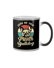 SHOW ME YOUR FRENCH BULLDOG Color Changing Mug thumbnail