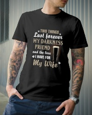 Two things last forever Classic T-Shirt lifestyle-mens-crewneck-front-6