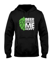 Beer Makes Me Hoppy Hooded Sweatshirt thumbnail