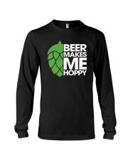 Beer Makes Me Hoppy Long Sleeve Tee thumbnail