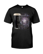 Beer - Hello Darkness Galaxy Classic T-Shirt front