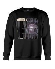 Beer - Hello Darkness Galaxy Crewneck Sweatshirt thumbnail