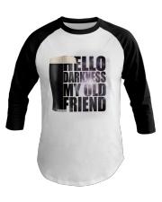 Beer - Hello Darkness Galaxy Baseball Tee thumbnail