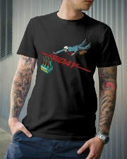 FRIDAY BEER Classic T-Shirt lifestyle-mens-crewneck-front-6