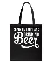 DRINKING BEER Tote Bag thumbnail