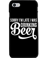 DRINKING BEER Phone Case thumbnail