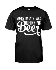 DRINKING BEER Classic T-Shirt thumbnail