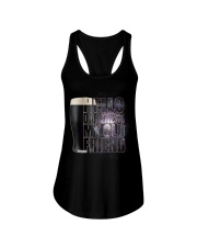 Beer - Hello Darkness Galaxy1 Ladies Flowy Tank tile