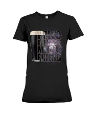 Beer - Hello Darkness Galaxy1 Premium Fit Ladies Tee thumbnail