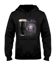 Beer - Hello Darkness Galaxy1 Hooded Sweatshirt tile