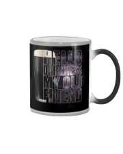 Beer - Hello Darkness Galaxy1 Color Changing Mug tile