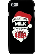 Forget the milk leave santa a craft beer Phone Case thumbnail