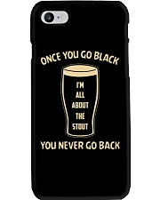 ONCE YOU GO BLACK YOU NEVER GO BACK Phone Case thumbnail