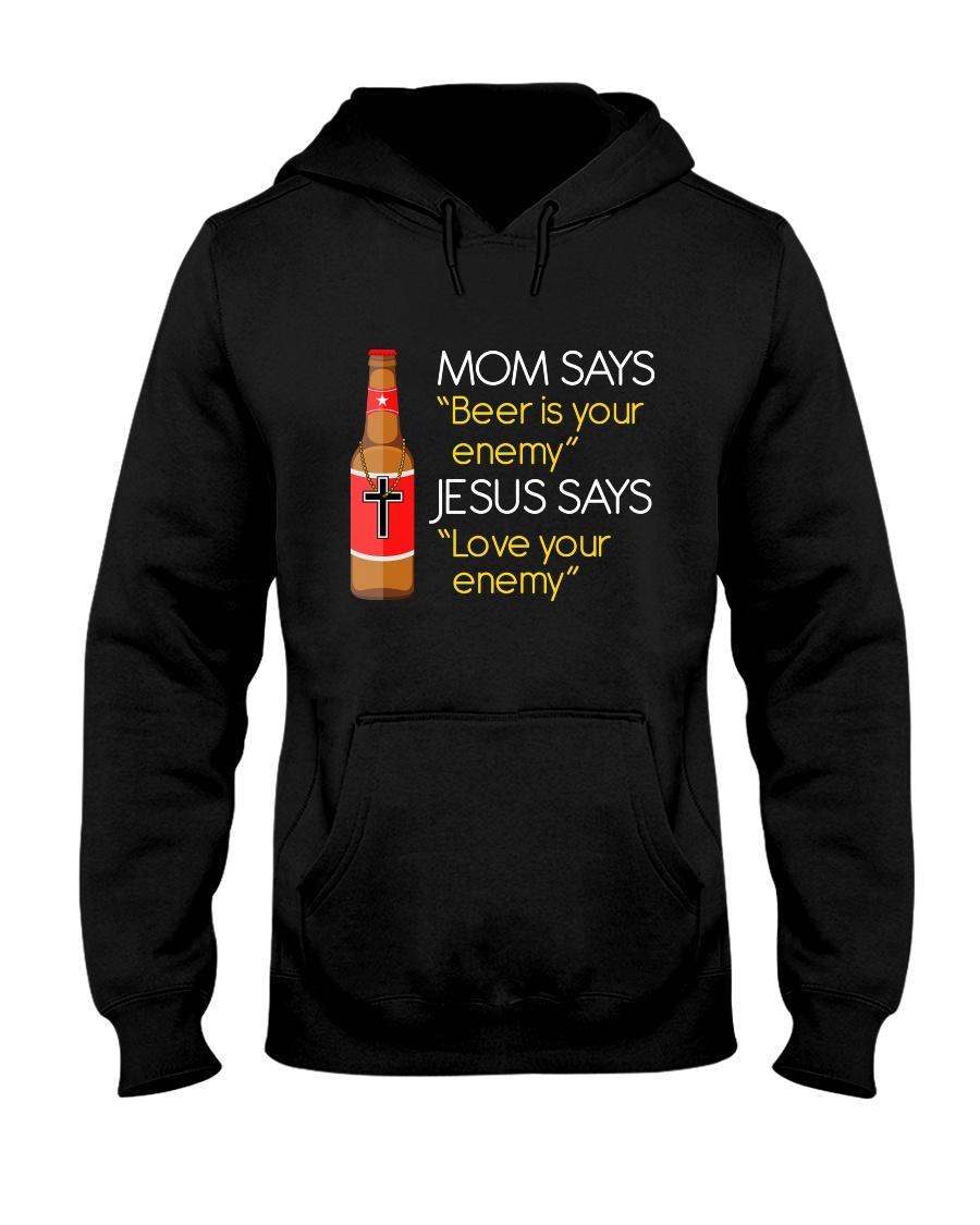 Love your enemy Hooded Sweatshirt