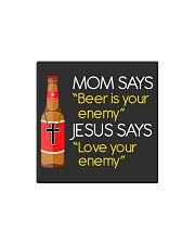 Love your enemy Square Magnet thumbnail