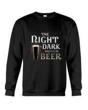 The night is dark and full of beer Crewneck Sweatshirt thumbnail
