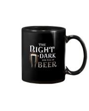 The night is dark and full of beer Mug thumbnail