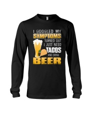 Tacos And Drink Beer T-Shirt Long Sleeve Tee thumbnail