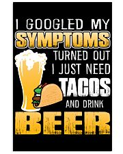 Tacos And Drink Beer T-Shirt 16x24 Poster thumbnail