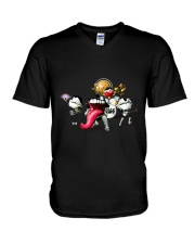 K music band V-Neck T-Shirt thumbnail
