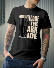 WELCOME TO THE DARK SIDE Classic T-Shirt lifestyle-mens-crewneck-front-6
