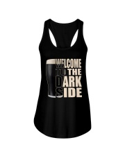 WELCOME TO THE DARK SIDE Ladies Flowy Tank thumbnail