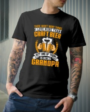 GRANDPA CRAFT BEER Classic T-Shirt lifestyle-mens-crewneck-front-6