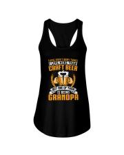 GRANDPA CRAFT BEER Ladies Flowy Tank thumbnail