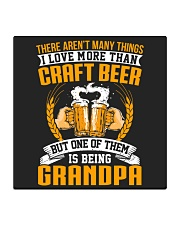 GRANDPA CRAFT BEER Square Coaster tile