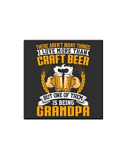 GRANDPA CRAFT BEER Square Magnet thumbnail