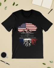 Never underestimate a man FRA US Classic T-Shirt lifestyle-mens-crewneck-front-19