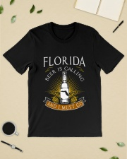 FLORIDA BEER IS CALLING AND I MUST GO Classic T-Shirt lifestyle-mens-crewneck-front-19