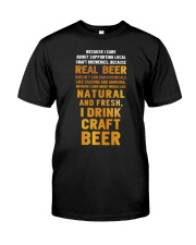 REAL BEER Classic T-Shirt front