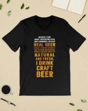 REAL BEER Classic T-Shirt lifestyle-mens-crewneck-front-19