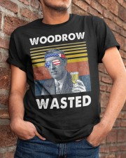 Woodrow Wasted Classic T-Shirt apparel-classic-tshirt-lifestyle-26
