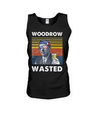 Woodrow Wasted Unisex Tank tile