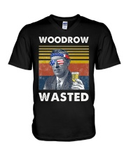 Woodrow Wasted V-Neck T-Shirt tile